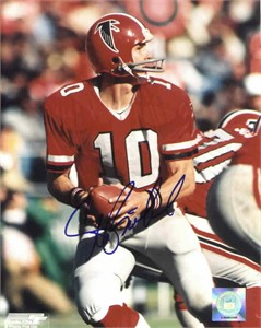 Steve Bartkowski autographed Atlanta Falcons 8x10 photo