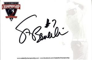 Steve Beuerlein autographed 4x6 signature card