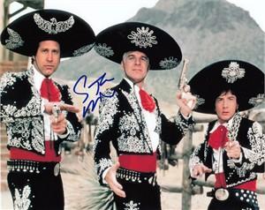 Steve Martin autographed Three Amigos 8x10 movie photo
