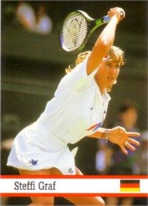 Steffi Graf 1994 Fax-Pax card