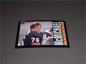 Steve McMichael Chicago Bears 1985 Topps Rookie Card #32