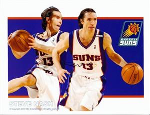 Steve Nash autographed Phoenix Suns 8x10 photo