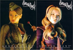 Sucker Punch movie 2010 Comic-Con 5x7 postcard set