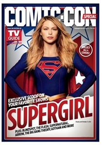 Supergirl 2016 Comic-Con TV Guide magazine (Melissa Benoist)