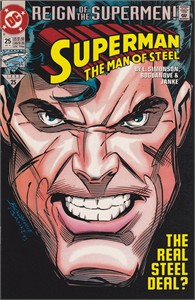 Superman The Man of Steel 1993 comic book issue #25