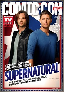 Supernatural 2016 Comic-Con TV Guide magazine