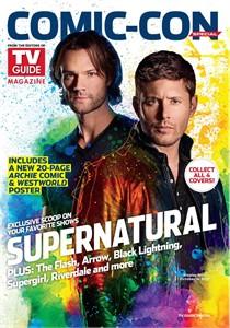 Supernatural 2017 Comic-Con TV Guide magazine