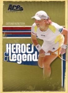 Svetlana Kuznetsova 2006 Ace Authentic card