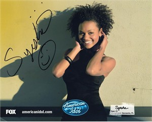 Syesha Mercado autographed 2008 American Idol 8x10 photo