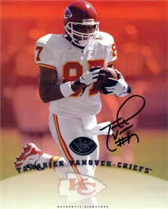 Tamarick Vanover autographed Kansas City Chiefs 8x10 photo