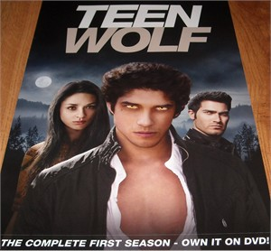 Teen Wolf 2012 mini 11x17 inch Season One DVD promo poster (Tyler Posey)