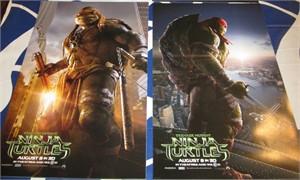 Teenage Mutant Ninja Turtles set of 3 mini 2014 movie posters
