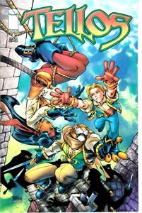 Tellos Image Comics comic book issue #4