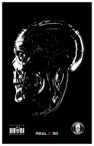 Terminator Genisys AMC Theatres exclusive mini movie poster