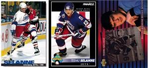 Teemu Selanne 1993-94 Upper Deck insert card #SP4