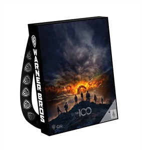 The 100 2017 Comic-Con huge promo tote bag or backpack