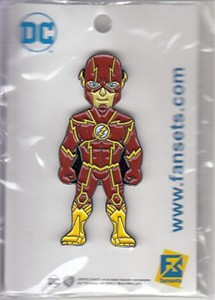 The Flash 2017 Comic-Con exclusive enamel pin NEW & SEALED