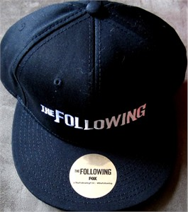 The Following 2013 Comic-Con exclusive promo embroidered snapback cap or hat