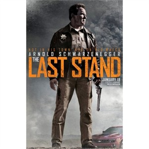 The Last Stand 2013 mini movie poster (Arnold Schwarzenegger)