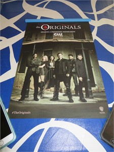 The Originals cast 2016 Comic-Con exclusive 11x17 mini poster