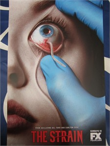 The Strain 2014 Comic-Con mini poster