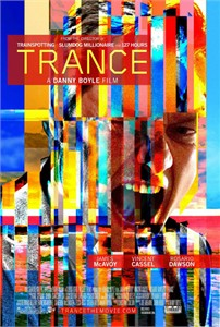 The Trance mini movie poster (Rosario Dawson James McAvoy)