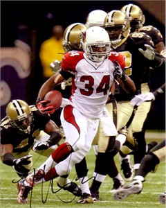 Tim Hightower autographed Arizona Cardinals 8x10 photo