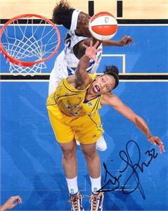 Tina Thompson autographed WNBA Los Angeles Sparks 8x10 photo