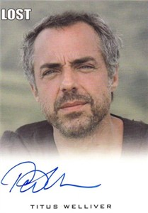 Titus Welliver (Man in Black) LOST certified autograph card