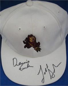 Todd Graham & Dennis Erickson autographed Arizona State Sun Devils cap or hat