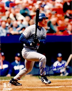 Todd Hollandsworth autographed Los Angeles Dodgers 8x10 photo