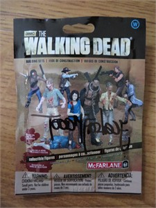 Todd McFarlane autographed Walking Dead Building Set sealed bag or pack
