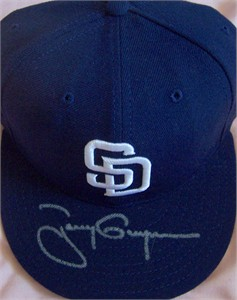 Tony Gwynn autographed San Diego Padres game model cap or hat