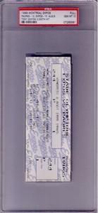 Tony Gwynn Hit 3000 1999 San Diego Padres full unused ticket PSA 10 GEM MINT