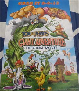 Tom and Jerry's Giant Adventure mini 2013 movie poster