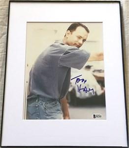 Tom Hanks autographed 8x10 vintage portrait photo (Beckett Authenticated)