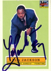 Tom Jackson autographed NFL on ESPN football card