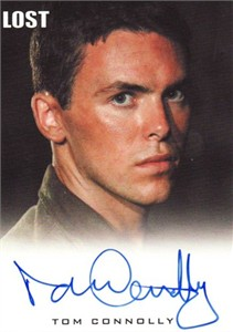 Tom Connolly LOST certified autograph card