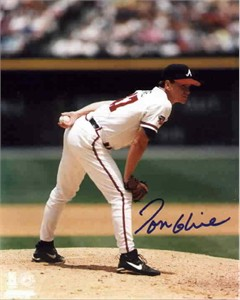 Tom Glavine autographed Atlanta Braves 8x10 photo