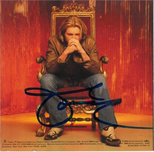 Tommy Shane Steiner autographed Then Came the Night CD booklet