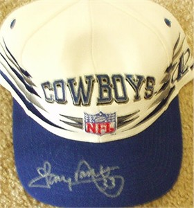 Tony Dorsett autographed Dallas Cowboys cap or hat