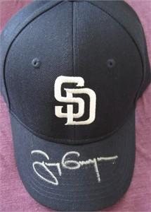 Tony Gwynn autographed San Diego Padres cap or hat
