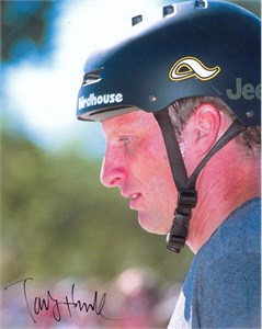 Tony Hawk autographed 8x10 portrait photo