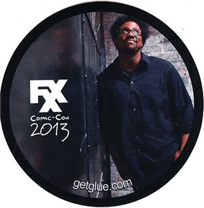Totally Biased with W. Kamau Bell 2013 Comic-Con exclusive sticker