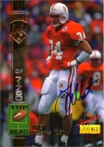 Trev Alberts certified autograph Nebraska Cornhuskers 1994 Signature Rookies card