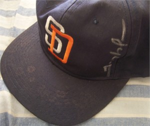 Trevor Hoffman autographed San Diego Padres replica cap or hat