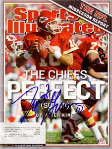 Trent Green autographed Kansas City Chiefs 2003 Sports Illustrated