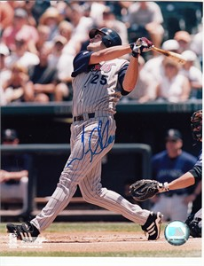 Troy Glaus autographed Anaheim Angels 8x10 photo