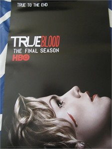 True Blood Final Season 2014 Comic-Con exclusive mini 13x20 promo poster