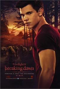 Twilight Breaking Dawn Jacob mini movie poster